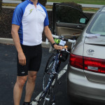 Preparation for the Norton Kiwanis Bicycle Ride